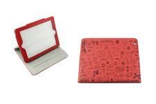 Funda protectora ipad 2 ipad 3 3 posturas ajustable imantado color rojo