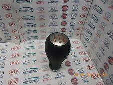Genuine Fiat 500 Abarth Gear knob Red 46313040R