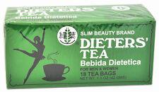 1 BOX OF Dieters' Tea Bebida Dietetica Slim Beauty Brand - BUY 2 GET 1 FREE!