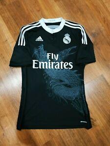 Real Madrid football jersey third 2014-2015 shirt Yohji Yamamoto size S