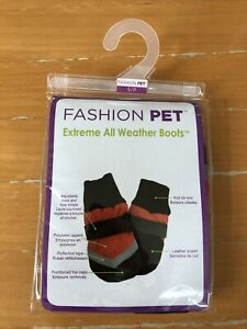 Fashion Pet - Extreme All Weather Boots for Dogs Size Small Beagle Terrier Breed