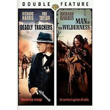 DEADLY TRACKERS / MAN IN THE WILDERNESS rare Western dvd RICHARD HARRIS 1970s
