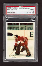 Ken Dryden Pre Rookie 1970 Swedish Masterserien Hockey Card PSA 9 MINT