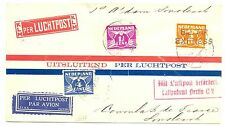 NEDERLAND 1930-5-14    FFC AMSTERDAM- SMOLENSK  -ZEGELS FRAAI