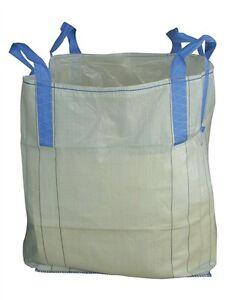 2-30Stck Big Bag's 60x60x60 oder 90x90x90 mit 4 Schlaufen bis 1,5t Sack,Bigbag