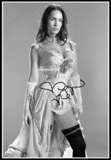 Megan Fox, Autographed, Pure Cotton Canvas Image. Limited Edition (MF-107)
