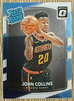 2017-18 Panini Optic Rated Rookie John Collins RC #182 Atlanta Hawks 🔥🏀