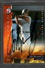 1995 SplitSecond #7 Jon Nunnally Peoria Javelinas Card Signed Autograph (D87)
