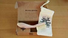 Kent Right Handed Beard Brush - BRD2 Luxury Brush With Storage Bag & Box - Gift!