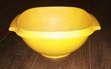 "Vintage Yellow Tupperware Bowl # 836-8 (No Lid) 8 1/4"" Diameter Replacement"