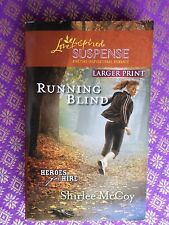 Running Blind: Heroes for Hire by McCoy Love Inspired romantic suspense larger