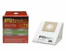 3M Filtrete Bissell Universal Micro Allergen Vacuum Bag, 3 Pack Lot of 2