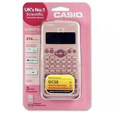 More details for casio fx-83 gtx gcse & higher grade scientific calculator 276 functions - pink