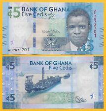 Ghana 5 Cedis p-new 2018 UNC Banknote