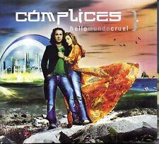 Cómplices – Hello Mundo Cruel CD + Libro + 15 Postales 2006 Digipack