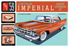 Skill 2 Model Kit 1959 CHRYSLER Imperial 3 in 1 1/25 Scale AMT Amt1136