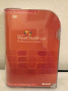 Microsoft Visual Studio SQL Server 2008 Pro Professional Academic