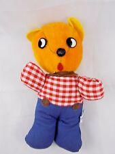 """Teddy Bear Plush 7"""" Sonsco Styled Japan Cuddly"""