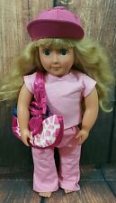 """Fits 18"""" American Girl Doll Clothes Outfit and Other Dolls Pink Pants and Shirt"""