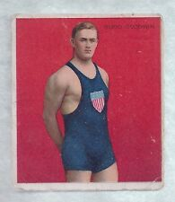 1910 Hassan Cigarettes T218 Champions Budd Goodwin Swimmer VG Plus