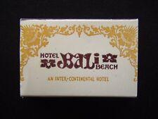 HOTEL BALI BEACH AN INTER-CONTINENTAL HOTEL SANUR INDONESIA MATCHBOX