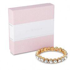 Jon Richard Round Crystal Stone Set stretch bracelet