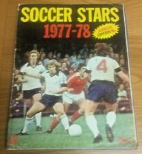 FKS Soccer Stars 1977/78 - 100% Complete & Hand Signed By 34 Players - Very Rare