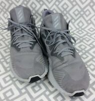 Mens Adidas Alpha Bounce Athletic Shoes HWA 1Y3001 Gray Silver Size 16 Sneakers