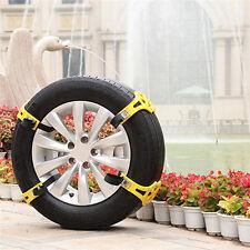 Truck Car Snow Mud Sand Tire Tyre Wheel Anti-skid Chain Belt  TPU