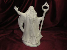 Ceramic Bisque Fall Wizard Mystical Fantasy U Paint Ready to Paint