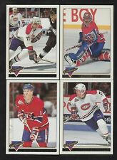 1993/94 Topps Premier GOLD Montreal Canadiens Team Set Of 19 Cards Parallels