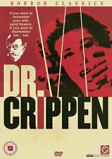DR. CRIPPEN  Donald Pleasance  Region 2 PAL DVD only!!!!