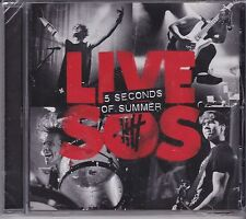 5 SECONDS OF SUMMER - LIVE - SOS on CD - NEW -