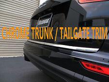 CHROME TAILGATE TRUNK TRIM MOLDING ACCENT KIT SUZ01