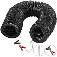 "10"" Flexible Duct Hose 16FT Explosion-Proof PVC Ducting Static-Free Water-Proof"