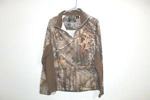 Redhead Realtree Xtra Sweatshirt Camo Medium Full Zip Hunting Jacket