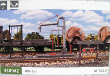 Pola 330942  Zubehörset BW mit Wasserkran, Schürhakengestell etc. für Spur G