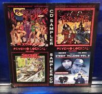 Psycho+Logical Records / Necro Sampler CD Ill Bill non-phixion goretex mr. hyde