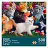 Jigsaw Puzzle For Adults Grown Ups Cat Lions Scenery 500 Piece 48 x 34cm