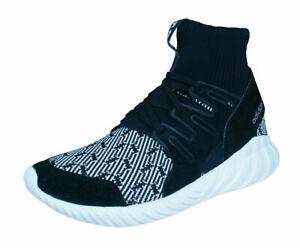 Men's adidas Originals Trainers Tubular Doom Primeknit Shoes Black S80096