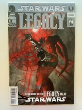 STAR WARS LEGACY #0 1/2 RARE HTF 2008 DARK HORSE COMICS GUIDE TO LEGACY ERA