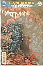 Batman #18 Finch Cover - 2017 Dc Rebirth