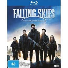 Falling Skies the Complete Season Series 1, 2, 3 & 4 blu ray Box Set R4 1 - 4