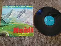 "Heidi Bso Banda Sonora Serie Rtve Folge 3-4-5 LP Vinyl vinyl 12 "" Rca"