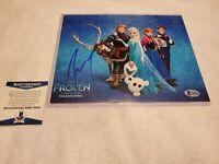 Josh Gad signed Autograph 8x10 Photo Frozen Olaf Voice Autograph ~ BECKETT COA