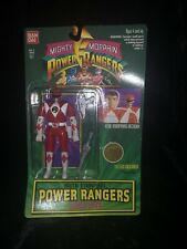 Power Rangers Original Auto Morphin Flip Head Red Ranger Action Figure Vintage