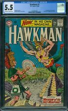 Hawkman 1 CGC 5.5 - OW/W Pages