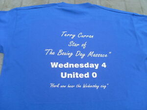 Sheffield Wednesday Terry Curran Boxing Day Massacre T-Shirt Birthday Gift