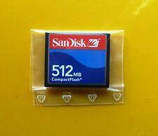 512 MB SanDisk CompactFlash CF Typ I Compact Flash  SDCFJ-512 512MB