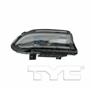 TYC FOR CHARGER 2015 2016 2017 2018 2019 HEADLIGHT HALOGEN W/LED RIGHT PASSENGER